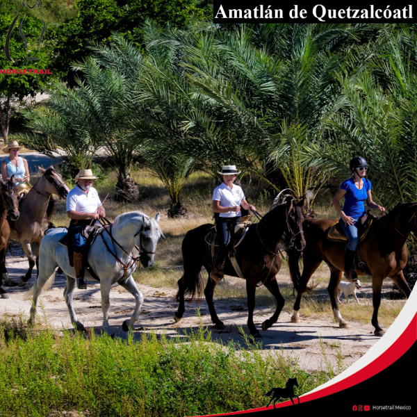 ENG HORSEBACK TOUR IN AMATLAN OF QUETZALCOATL MORELOS